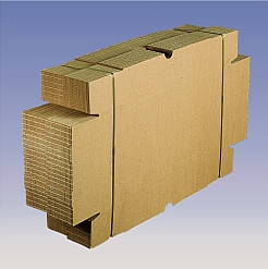 Self Locking Trays/Boxes bundled