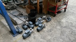 Motors to be fitted