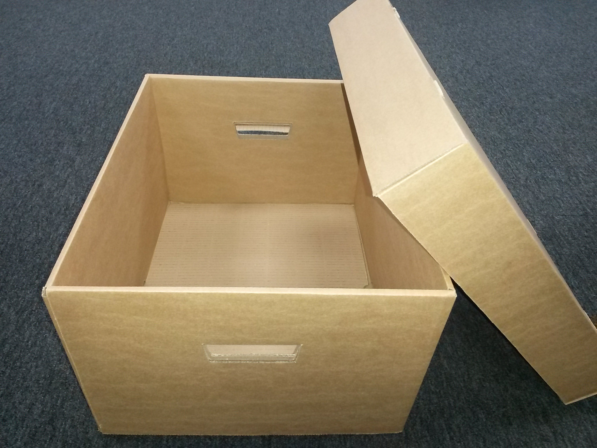 how to make cardboard storage boxes